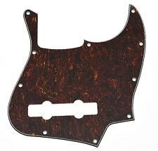 Red Tortoise 5 String Jazz Bass J Bass Pickguard Scratch Plate fits Fender