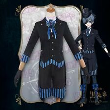 USA Black Butler Ciel Phantomhive Book Of Atlantic Cosplay Costume 2017 Anime