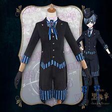 USA Black Butler Ciel Phantomhive Book Of Atlantic Cosplay Costume 2017 Anime