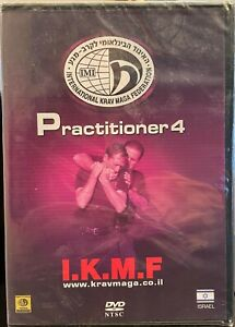 I.K.M.F. Krav Maga Practitioner 4 New sealed DVD NTSC (USA) version