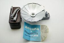 Vintage Accura BounceMaster Open Flash Tilt Flash Unit Used