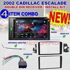 PIONEER AVH-211EX METRA 95-3004 2DIN DASH KIT FOR SELECT 2002 CADILLAC ESCALADE