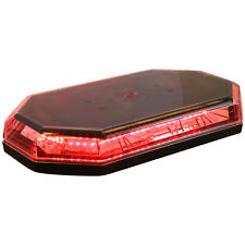 BUYERS PRODUCTS 8891063 - LIGHTBAR,MINI,LED,12-24 VDC,RED-MAG/PERM