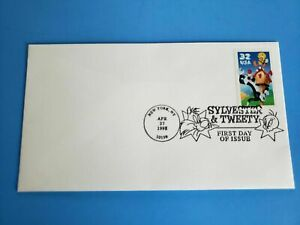 US 1998 Sylvester & Tweety First Day Cover SC# 3204 (In Original Packaging)