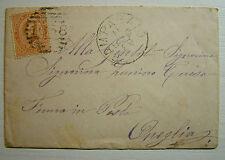 1879 Regno D'Italia 20 centesimi Umberto I  viaggiato