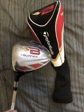 NICE Taylormade Golf BURNER 10.5* DRIVER Left LH Graphite ReAx 49 Regular Flex