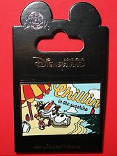 Hong Kong Disney Pin Olaf Chillin in the Sunshine Summer Postcard - HKDL