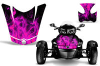 Can Am BRP RS Spyder Roadster Hood & Fender Graphic Kit Decal Sticker Wrap ICE P