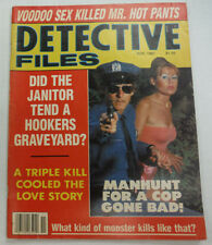 Detective Files Magazine Janitor Goes Nuts November 1987 062215R