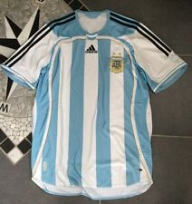 Rarität!Fan Club Fußball Original adidas AFA ARGENTINIEN Trikot Shirt BlauWeiß M