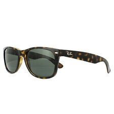 Ray-Ban Sunglasses New Wayfarer 2132 902/58 Tortoise Green Polarized 58mm Large