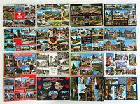 BAD ORB Hessen Postkarten Lot 16 Mehrbild-AK gelaufen, frankiert mit Briefmarke