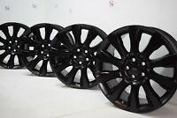 "Black 21"" Range Rover Land Supercharged 2014-2019 rims wheels Factory OEM 21"