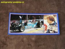 Didier PIRONI - Ligier CZE Karte/card cca 10x21 cm RAR!