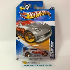 Nissan 350Z #157 * SILVER * 2012 Hot Wheels * JC12