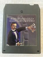 BLUE OYSTER CULT AGENTS OF FORTUNE 8 TRACK CASSETTE TAPE (TESTED, WORKS AMAZING)