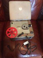 Vintage Kodak Brownie 500 Movie Projector 8mm . Working with one reel included