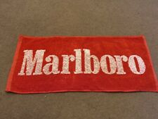 Marlboro Pub Red And White Beer Towel