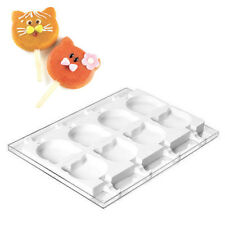 Silikomart Silicone Mold for Ice Cream Pops, Cat