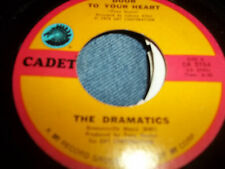 """Soul NM 45 THE DRAMATICS Choosing Up On You on DOOR TO YOUR HEART Cadet 7"""" NM 45"""