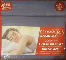 Infused Copper X Bamboo Essence 2000 Seties 6pc Sheet Set Queen Size