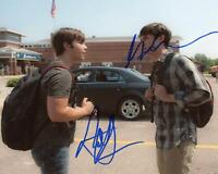 "Nathan Kress & Max Deacon ""Into the Storm"" AUTOGRAPHS Signed 8x10 Photo ACOA"