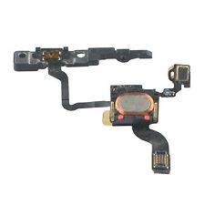 RICAMBIO nuovo pulsante di accensione cavo flessibile con orecchio Altoparlante & STAFFA PER IPHONE 4