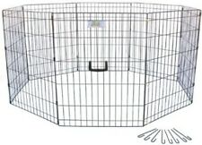 Go Pet Club 42-Inch High Wire Play Pen 8-Panels GDP1042 Pet Pen NEW