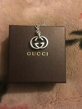Sterling Silver Gucci Double Britt Necklace