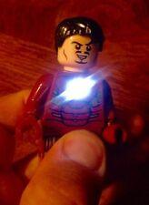 LARGE CUSTOM LED Flashlight Marvel Iron Man Tony Stark Minifigure Lot !!!