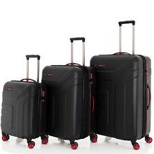 Travelite VECTOR Schwarz 3 tlg. 4 Rollen 3 tlg. 55 70 77 Trolley Reisekoffer Set