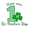 ST PATRICK'S DAY QUALITY IRON ON T-SHIRT TRANSFERS