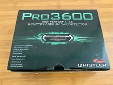 Whistler PRO-3600 Radar Detector