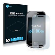 6x Savvies Su75 Film de protection Écran pour Samsung Galaxy Gio S5660