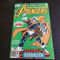The Avengers #196 (June 1980 Marvel) Task Master Black Widow Movie Newsstand
