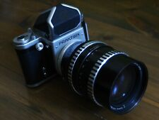 Praktsix &  Carl Zeiss Jena Zebra Sonnar 180mm f2.8  Pentacon Six,P6