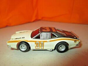 Vintage Aurora AFX Mercury Stock Car #31 w/AFX Chassis HO Slot Car