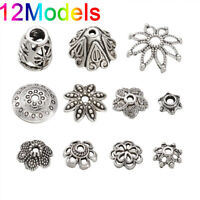 Lots 50 pcs Tibetan Antique Silver Cone Bead Caps End Beads Jewelry Findings Yc