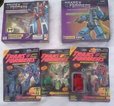MISB Transformers 2002 G1 Starscream Dirge + 1993 G2 Vortex Swindle Beachcomber