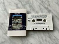 The Who Hooligans CASSETTE Tape 1981 MCA MCAC 212001 Pete Townshend RARE! OOP!