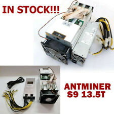 BTC Miner AntMiner S9 13.5T With BITMAIN Power Supply Bitcoin Miner IN STOCK US
