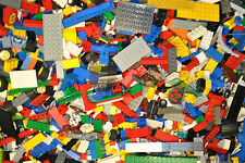 500g LEGO large job lot collection parts 2 minifigs 1/2 KG Kilo starter pack