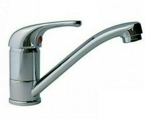 Caravan Mixer Tap - Chrome Plated - Non-Microswitched - Motorhome / Boat   T81