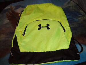UNDER ARMOUR Backpack Style Gym / Bag Dust Bag NEW FAST FREE SHIPPING
