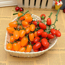 artificial string tomato faux fruit fake food house kitchen party office decor