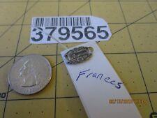 Sterling Silver - Antique Wwii Forget-Me-Not Bracelet Link frances