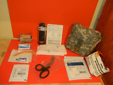 NEW Military Issue Large ACU IFAK MOLLE First Aid Pouch W/ Medical Supplies
