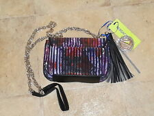 d52bf1e49bc Womens Clutch Shoulder Evening Party Bag Versace Jeans Purple