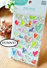 ADESIVI Cuore Jelly 3D Craft DOT DECO Cardmaking DIARIO d'amore regalo di compleanno