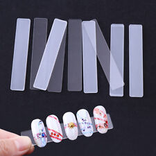 5Pcs Clear Acrylic False Nail Tips Display Stand Holder Manicure Nail Tool DIY